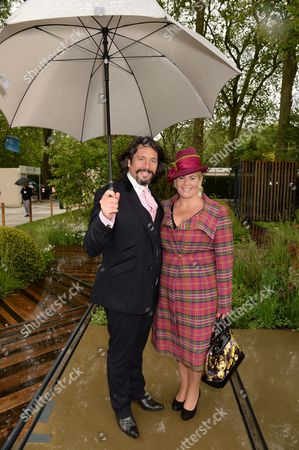 Stock Picture of Laurence Llewelyn-Bowen and Jackie Llewelyn-Bowen