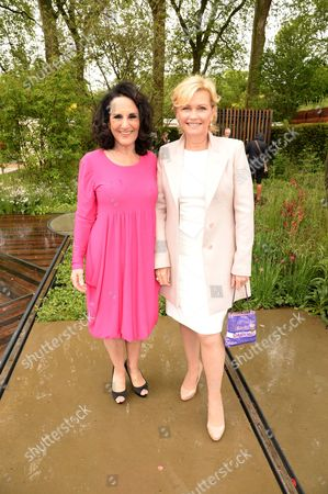 Lesley Joseph and Fiona Fullerton
