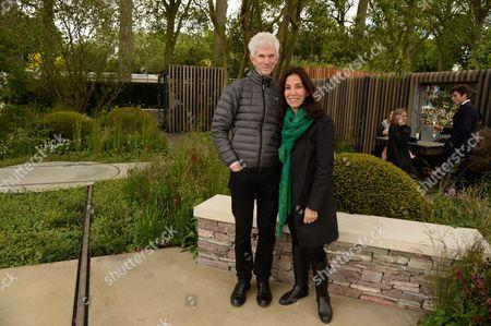 Richard Buckley and Olivia Harrison