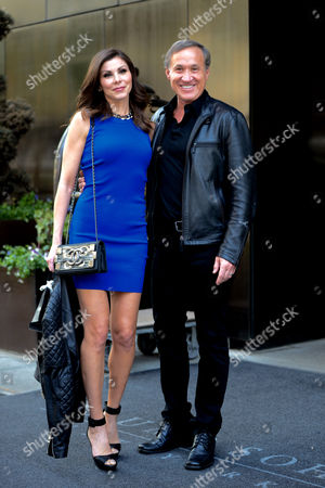 Stock Photo of Heather Dubrow and Terry J Dubrow