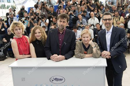 Margherita Buy, Beatrice Nancini, Nanni Moretti, Giulia Lazzarini and John Turturro