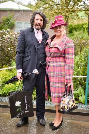 Stock Photo of Laurence Llewelyn-Bowen and Jackie Llewelyn-Bowen
