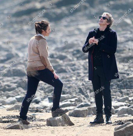 Ingrid Oliver and Peter Capaldi