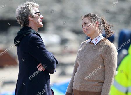 Peter Capaldi and Ingrid Oliver