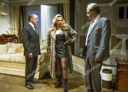 David Bamber as Julian,  Rachel Tucker as Poopay, Robert Portal as Reece