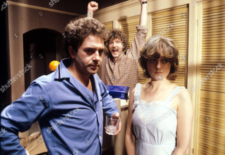 Michael Kitchen, Stephen Moore and Polly Adams