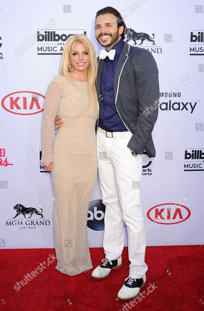 Britney Spears and Charlie Ebersol