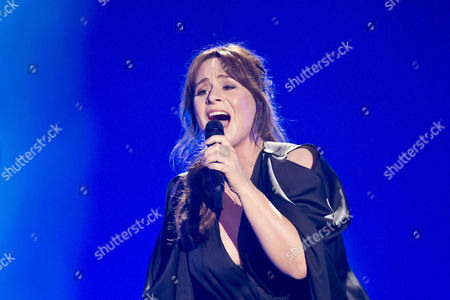 Editorial picture of Eurovision Song Contest, Semi-Final 1, dress rehearsal, Vienna, Austria - 18 May 2015