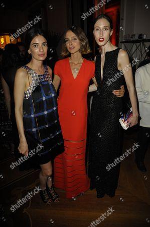 Leila Yavari, Anna van Ravenstein and Candela Novembre
