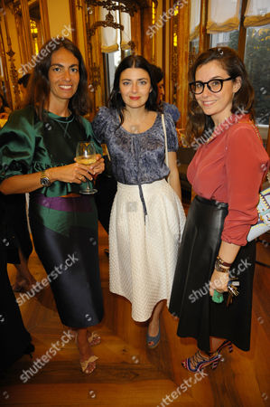 Viviana Volpecella, Lucilla Beccaria and Paula Cademartori