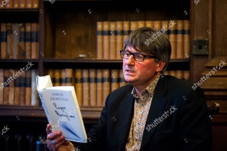 Simon Armitage reads from his book 'Paper Aeroplane'