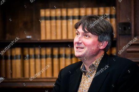 Editorial image of Simon Armitage at the Oxford Union, Oxfordshire, Britain - 18 May 2015