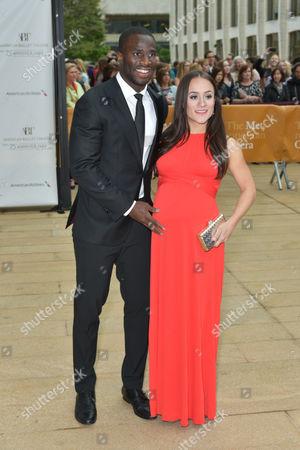 Prince Amukamara and Pilar Davis