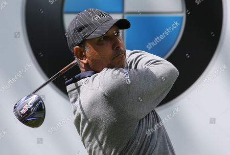 Jeev Milkha Singh during his practice round.