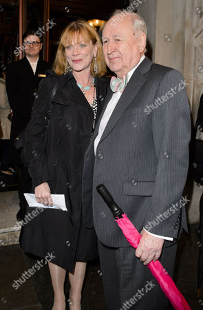 Stock Picture of Samantha Bond and guest