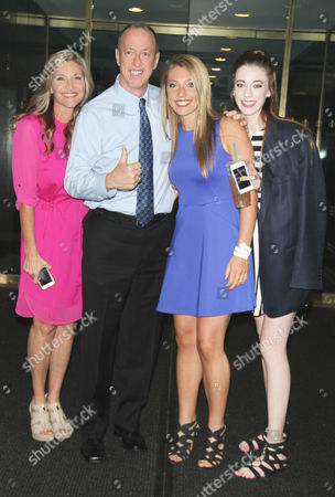 Jill Kelly, Jim Kelly and Erin Kelly