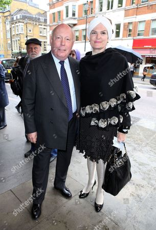 Julian Fellowes and Emma Fellowes