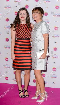 Rosie Smith and Lorraine Kelly
