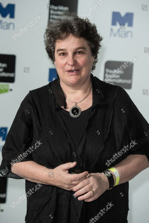Stock Image of Author Marlene Van Niekerk poses during a photo-shoot before the announcement of the 2015 Man Booker Prize winner at the Victoria and Albert Museum.