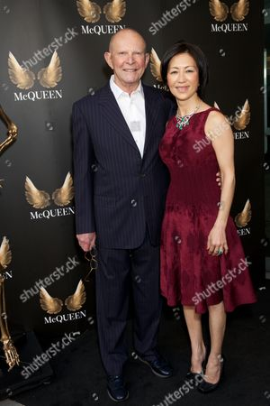 Stock Image of Wilbur Smith & Mokhiniso Rakhimova