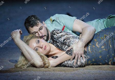 Justina Gringyte as Carmen, Eric Cutler as Don Jose