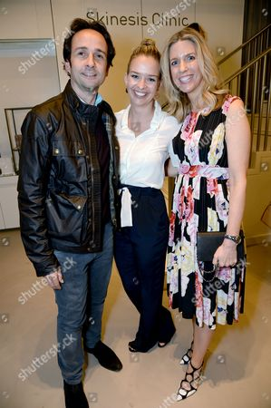 Matt Hermer, Marissa Hermer and Sarah Chapman