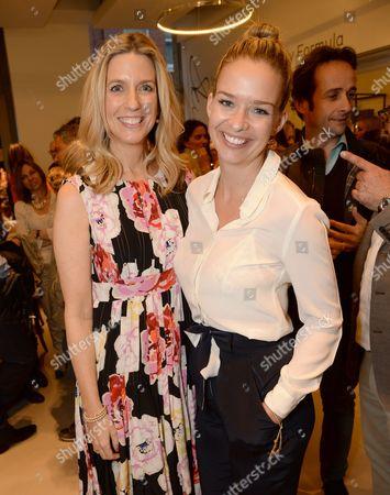 Sarah Chapman and Marissa Hermer