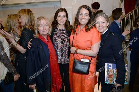 Martine Montgomery, Rebecca Goldbart, Krishna Montgomery and Kate Shapland