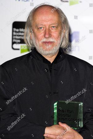 Man Booker Prize winner Laszlo Krasznahorkai