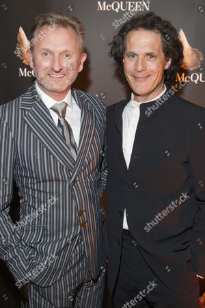 Julian Stoneman (Producer) and Robert Mackintosh (Producer) attend the after party for press night at St James Theatre