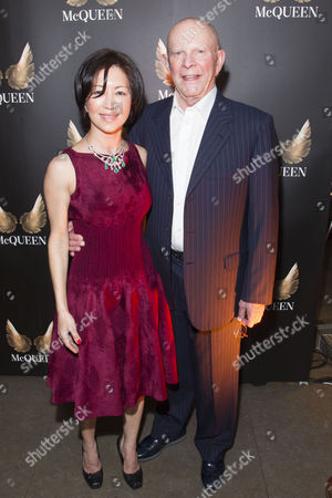 Mokhiniso Smith and Wilbur Smith attend the after party for press night at St James Theatre