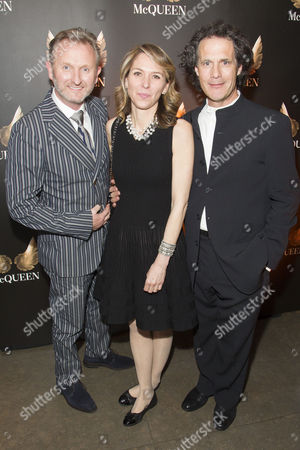 Julian Stoneman (Producer), Deborah Negri (Producer) and Robert Mackintosh (Producer) attend the after party for press night at St James Theatre