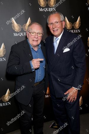 Stock Picture of David Shaw-Parker & Mr John Hitchcock