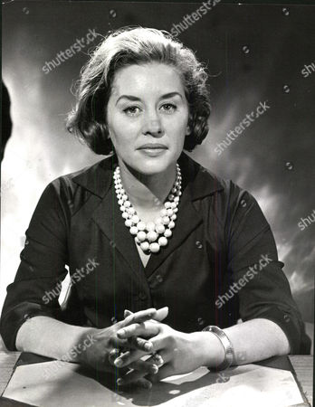 Stock Image of Actress Naomi Chance Selected By The Bbc As A Tv Announcer After They Officially Described Her As 'attractive'.