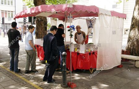 Dominique A E Manceur has had a French Crepe stall in central London for two and a half years. He is originally from Paris