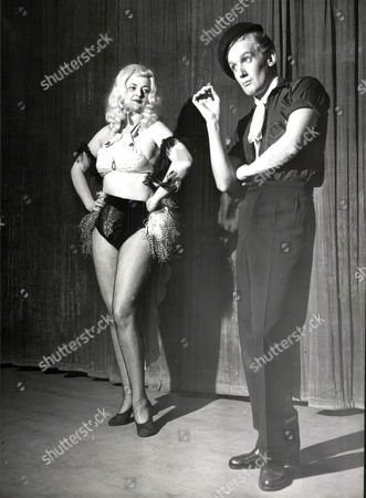 Lisa Lee And Digby Wolfe Performing At Late Night Revue At The Palladium Edinburgh.