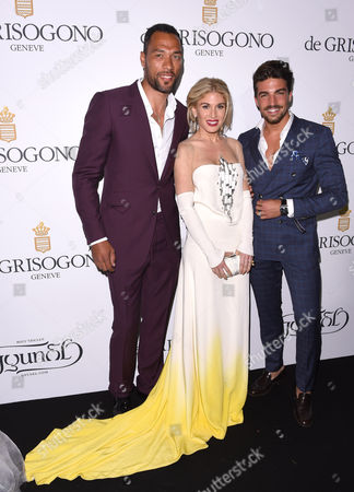 John Carew, Mariano Di Vaio and Hofit Golan