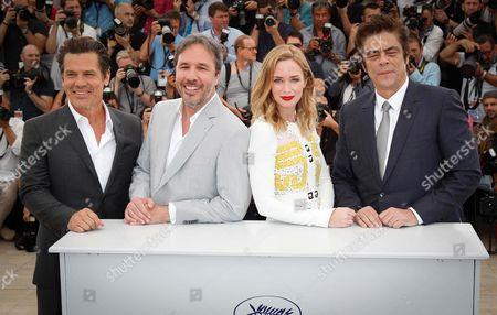 Josh Brolin, Dennis Villeneuve, Emily Blunt, Benicio del Toro