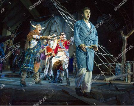 David Birrell as Captain Hook, Patrick Osborne as John