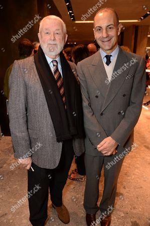 Colin McDowell and Luigi Maramotti