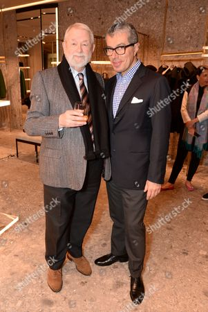 Colin McDowell and Giorgio Guidotti