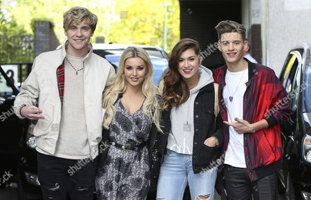 Mikey Bromley, Betsy Blue, Parisa Tarjomani and Charlie George