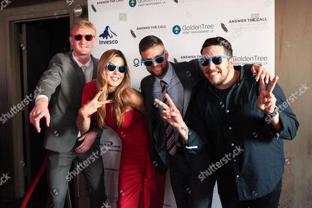 Ryan Meara, Mary Alice Stephenson, Chris Wingert and Sal Vulcan