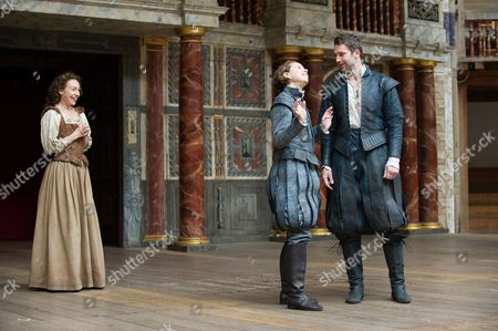 'As you Like It' play performed at Shakespeare's Globe Theatre