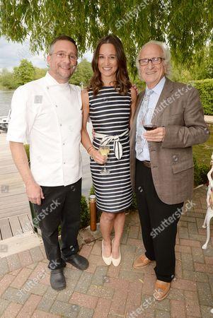 Alain Roux, Pippa Middleton and Michel Roux