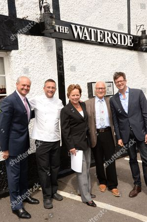 Editorial image of 30 Years of 3 Michelin Stars: The Waterside Inn celebrates with media lunch, Bray, Britain - 20 May 2015