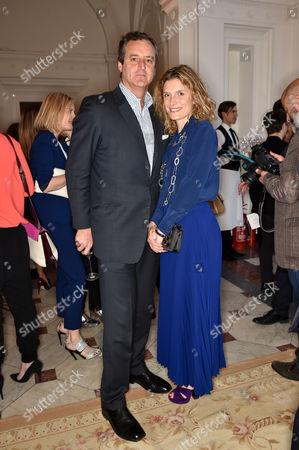 Stock Photo of Peter Sartogo and Martina Mondadori