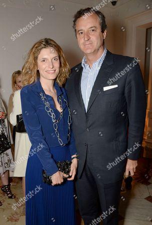 Martina Mondadori and Peter Sartogo