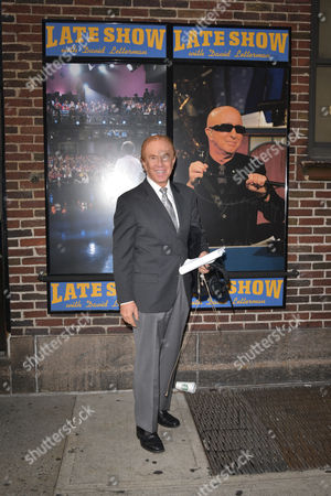 Stock Photo of Alan Kalter, Late Show announcer