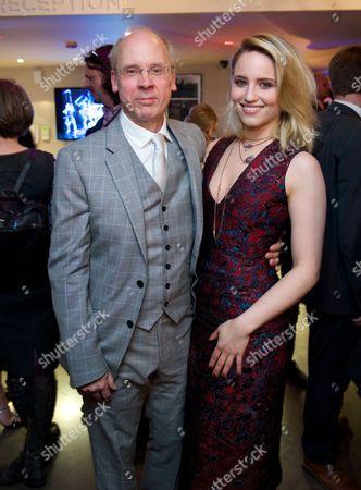 John Caird and Dianna Agron